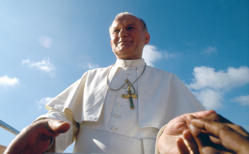 In 1981, St. John Paul the Great visited the Philippines, 1 of 129 countries he has visited during his pontificate.